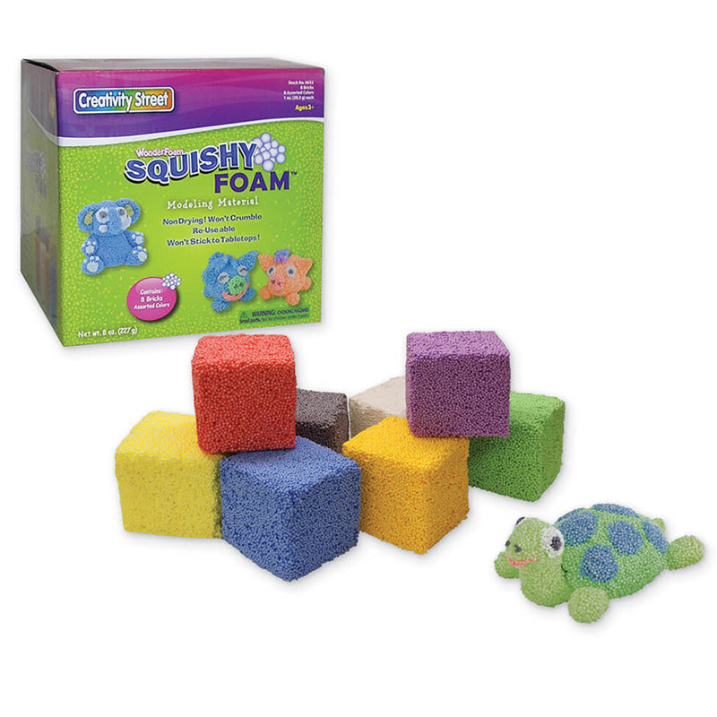 Pacon Squishy 8 Piece Colored Modeling Foam