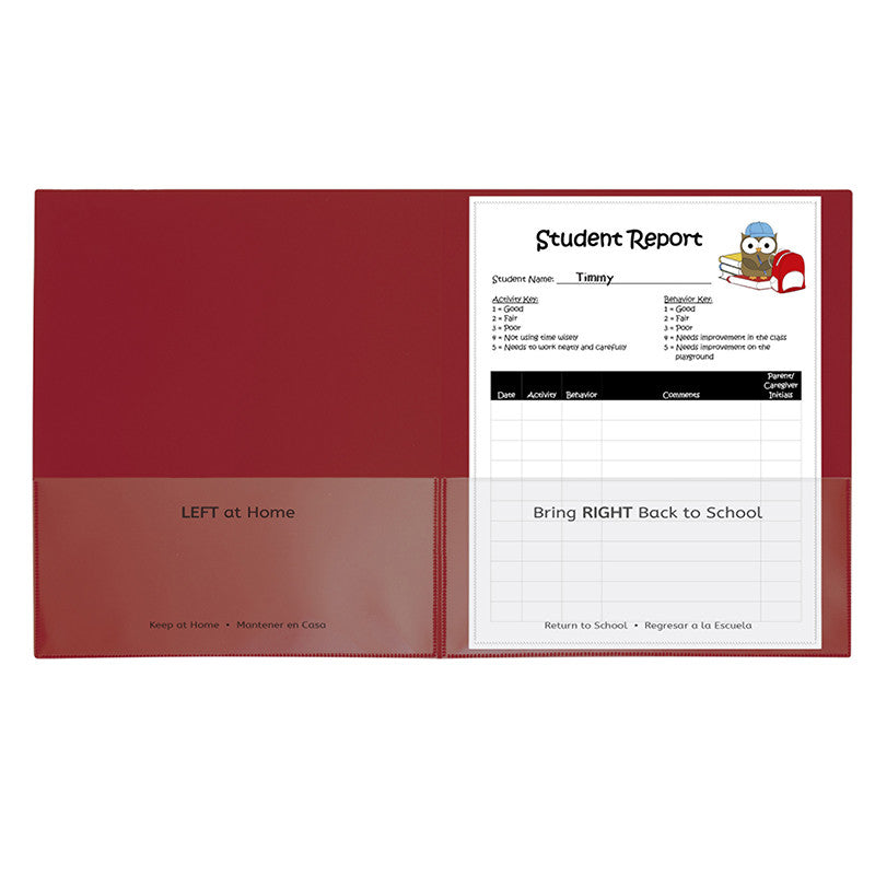 C-Line Products Inc Classroom Connector 25 Piece Pocket Folders