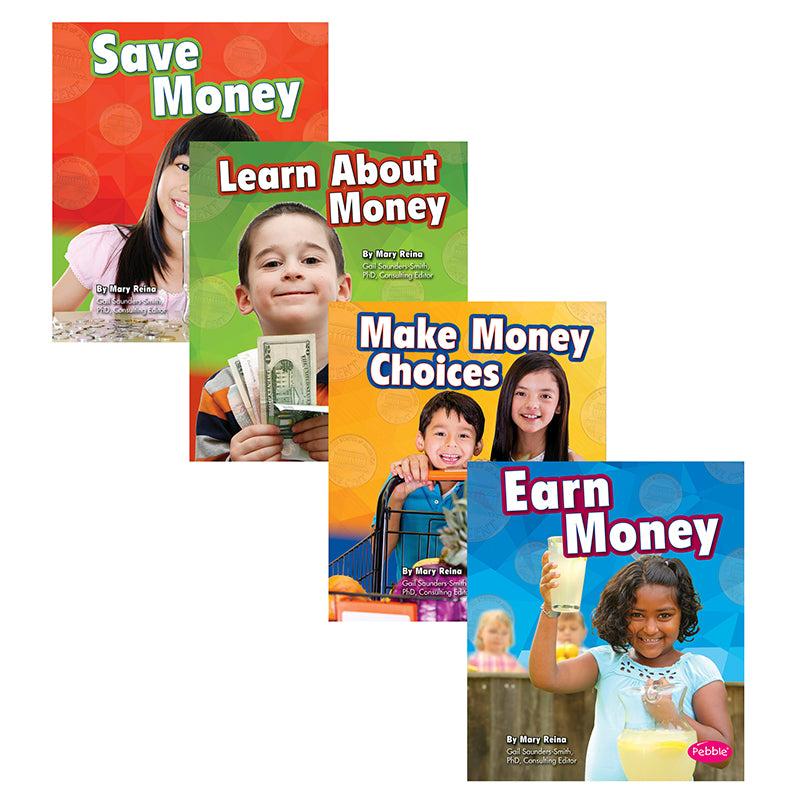 Capstone Coughlan Pub Money And You Book, Set of 4 Books