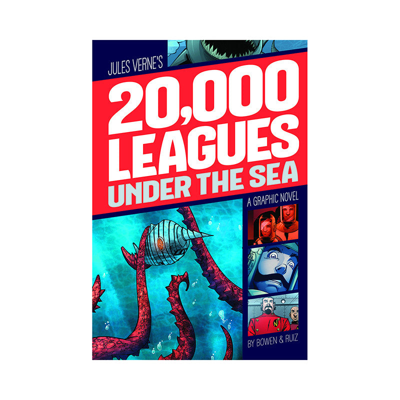 20000 Leagues Under The Sea Graphic Novel