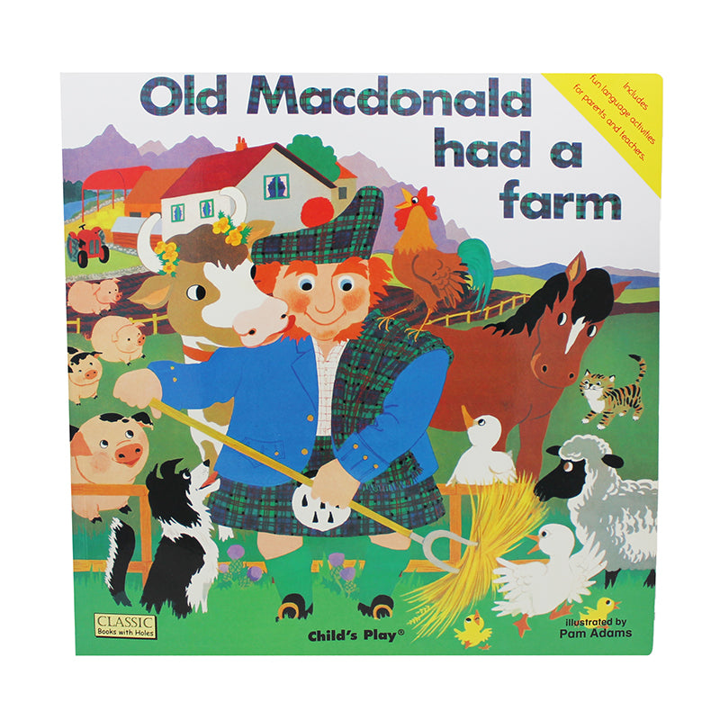 Childs Play Books Old Macdonald Big Book