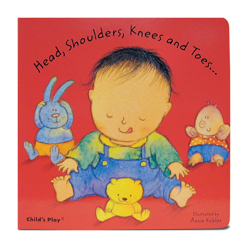 Childs Play Books Head Shoulders Knees And Toes Board