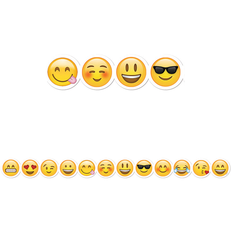 Creative Teaching Press Emojis Border