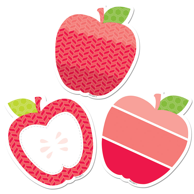 Creative Teaching Press Apples 3 Inch Painted Palette Cut Outs