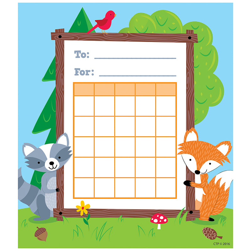 Creative Teaching Press Woodland Friends Student Incentive Chart