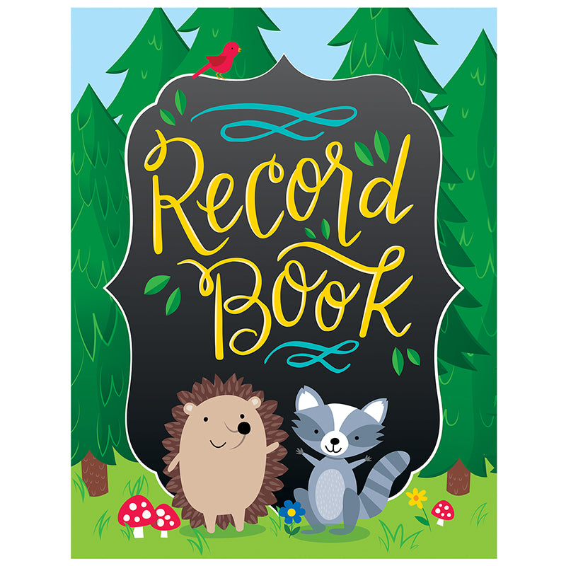 Creative Teaching Press Woodland Friends Record Planner
