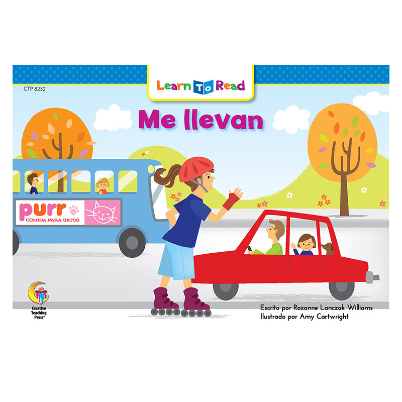 Creative Teaching Press Me Llevan - On The Go