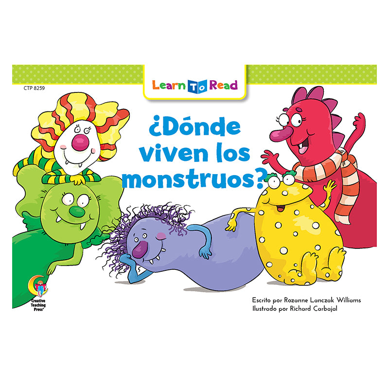 Creative Teaching Press Donde Viven Los Monstruos - Where the Monsters Live