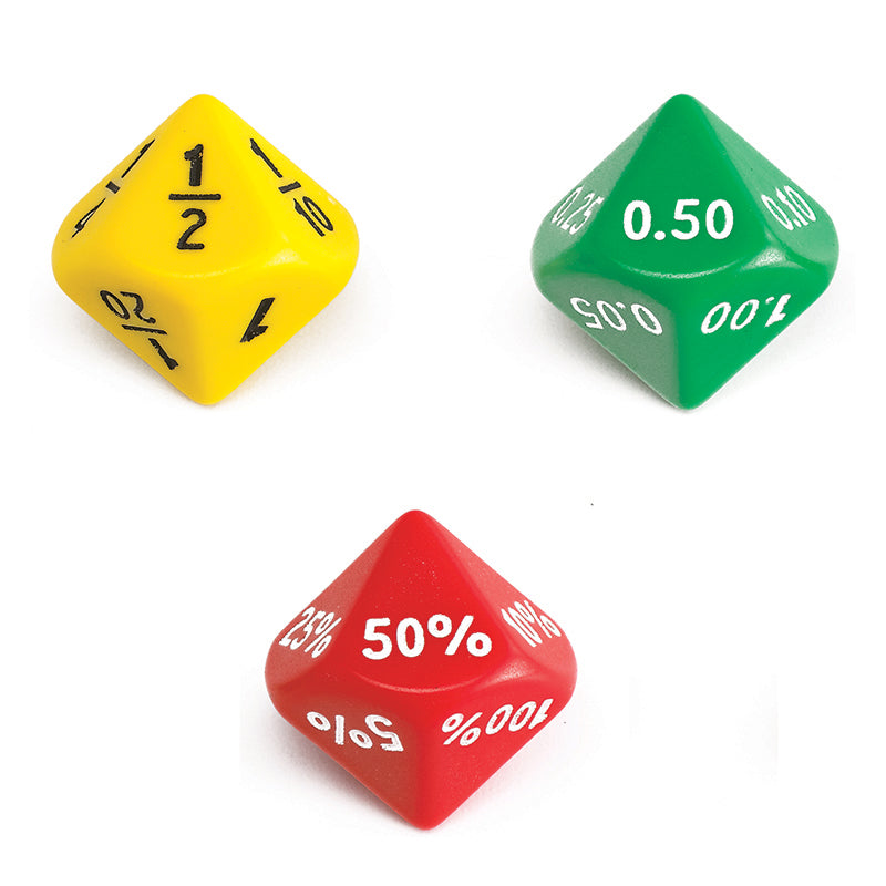 Learning Advantage Jumbo Equivalence Dice