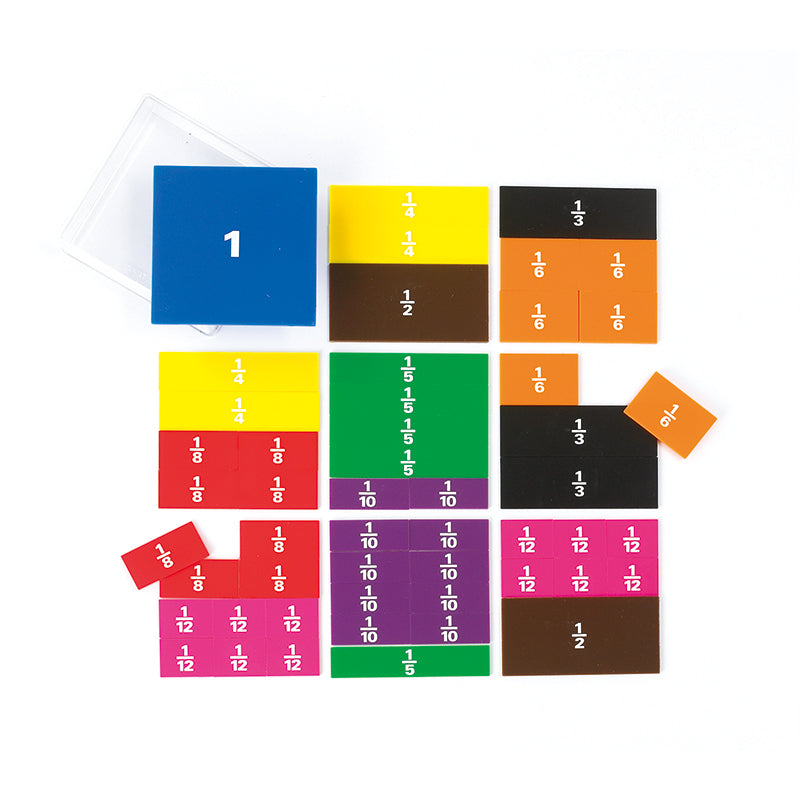 Learning Advantage Fraction Squares, 51 Pieces