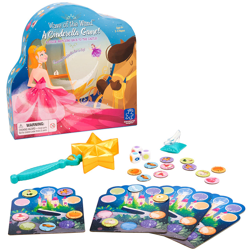Learning Resources Wave of the Wand A Cinderella Game