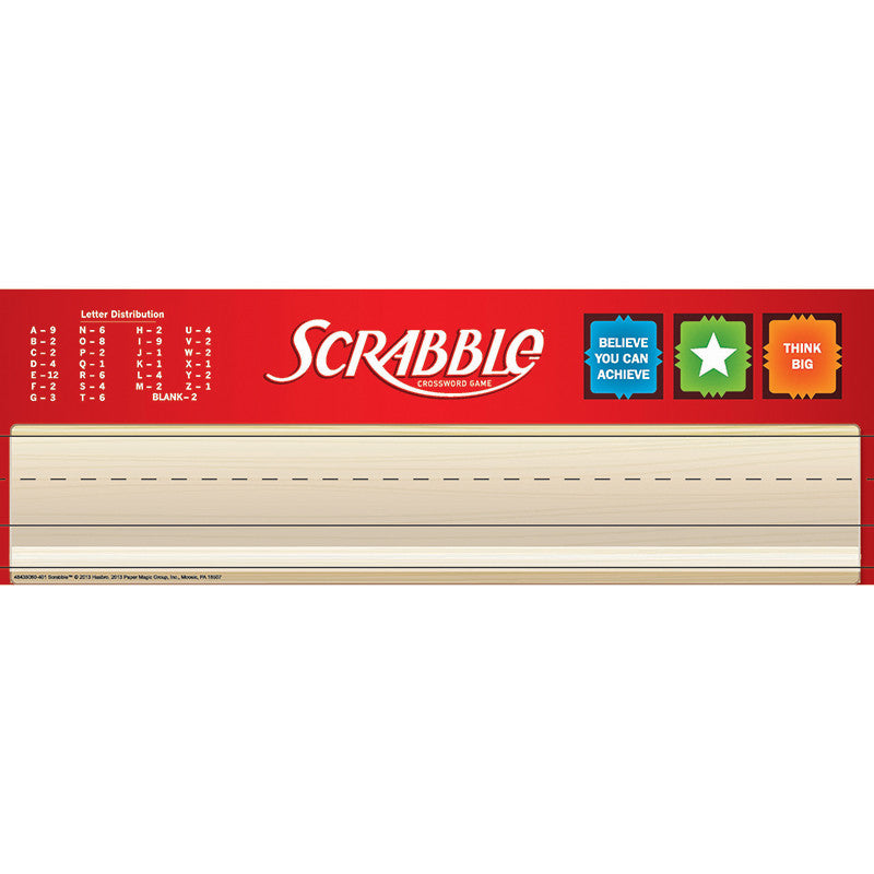 Scrabble Tented Name Plates