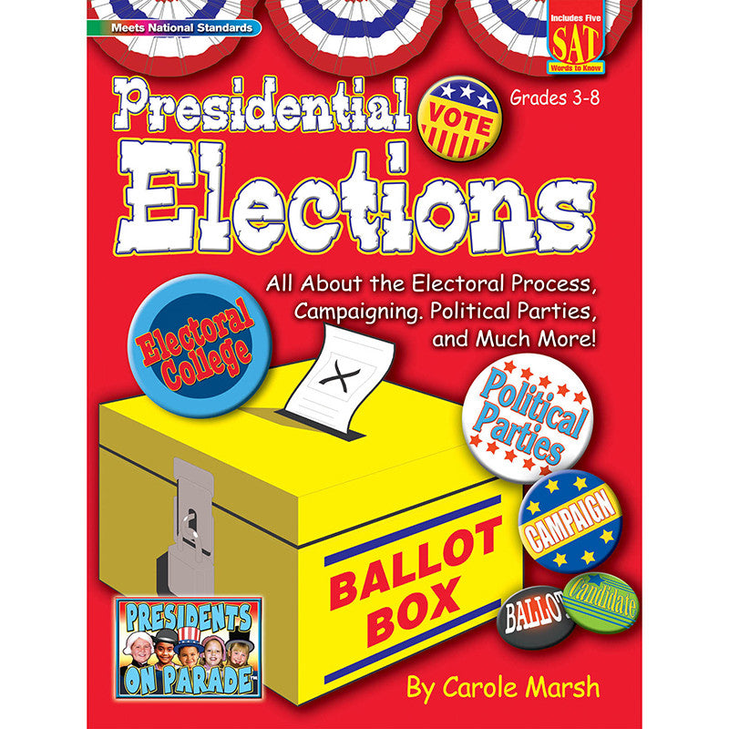 Presidential Election Activity Book