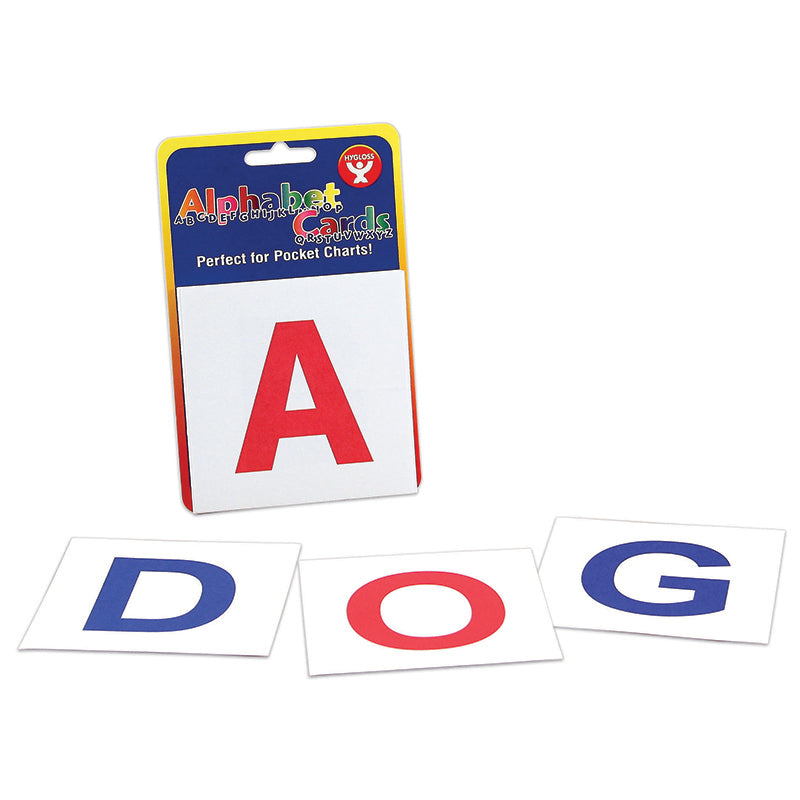 Hygloss Products 30 Piece Alphabet Flash Cards