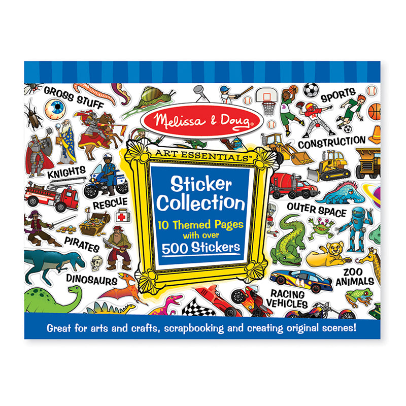 Melissa and Doug Blue Sticker Collection