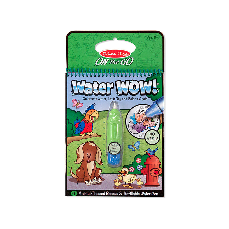 Melissa and Doug Animals Water Wow Activity Pad