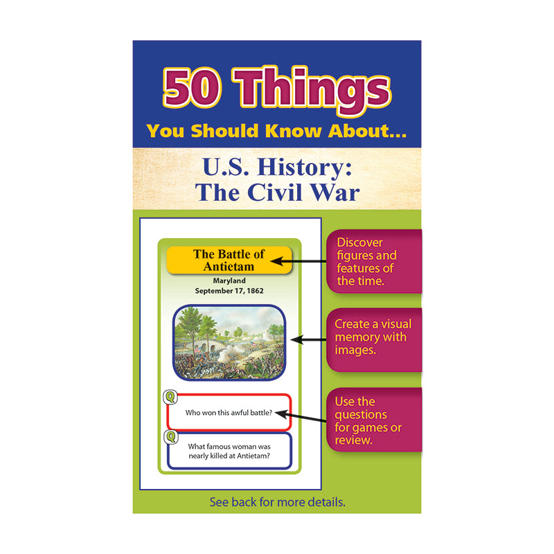 Lorenz/Milliken 50 Things You Should Know About US History The Civil War