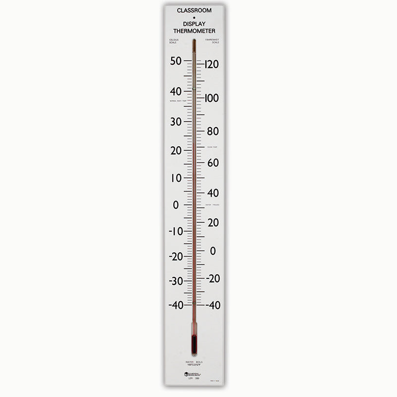 Learning Resources 30 Inch Giant Classroom Thermometer