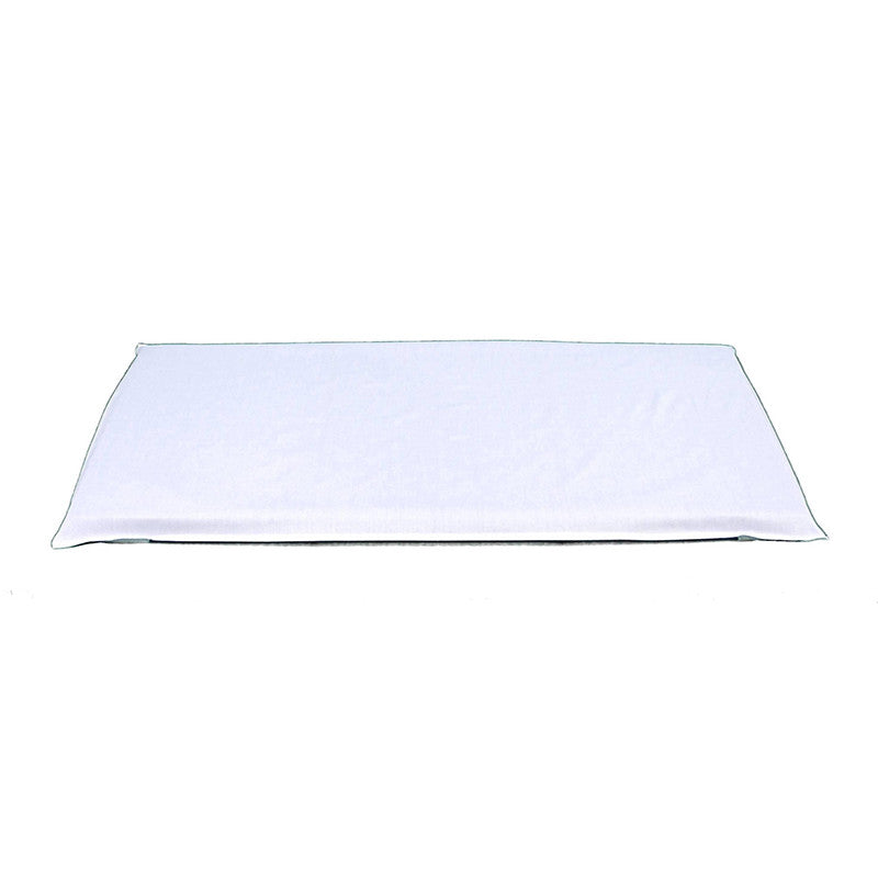 Mat Fitted Sheet White