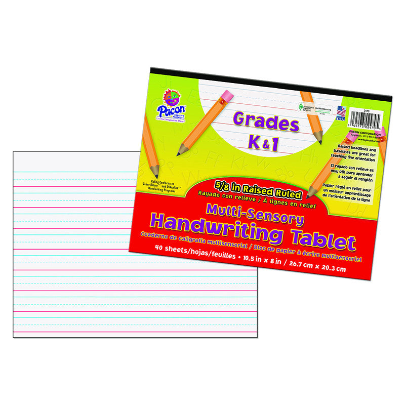 Multi Sensory Handwriting Tablet