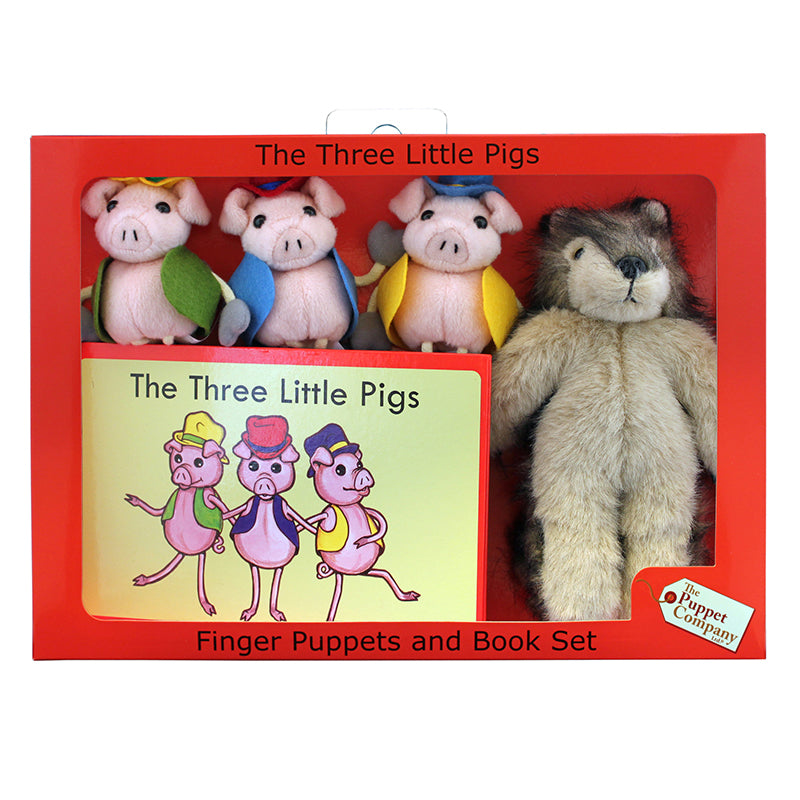 The Puppet Company The Three Little Pigs Finger Puppets