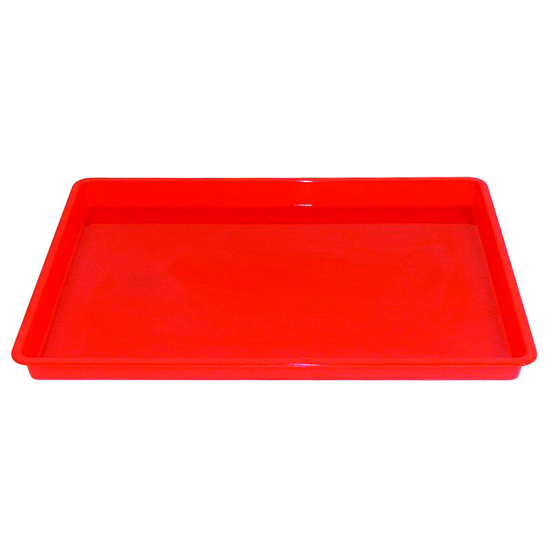 Creativitray Fingerpaint Tray Red