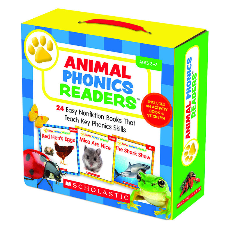 Animal Phonics Readers Parent Pack