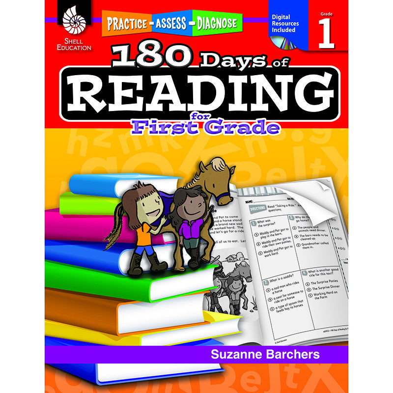 180 Days Of Reading Book For First Grade – The Education