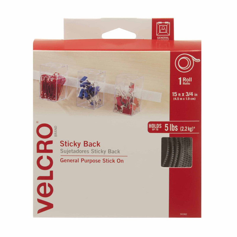 Velcro Tape 3/4 X 5 Yds White