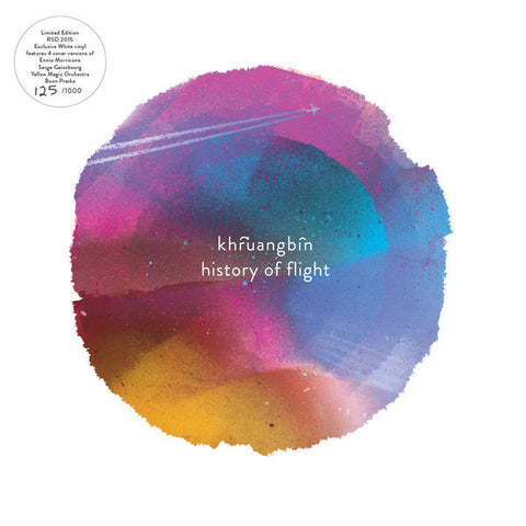 Khruangbin - History Of Flight EP - white vinyl 10