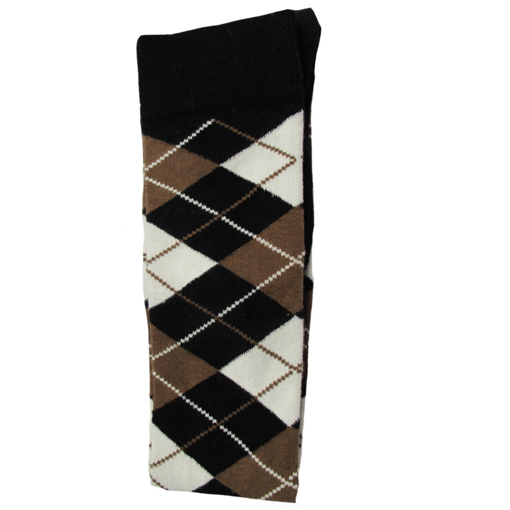 Argyle Over Knee Socks