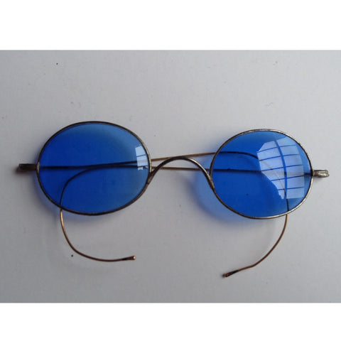 Blue Tinted Sunglasses