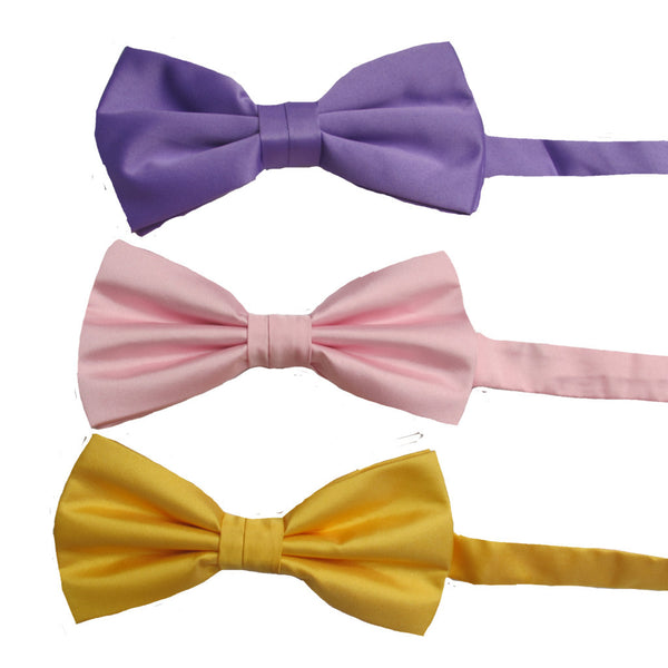Coloured Bow Ties