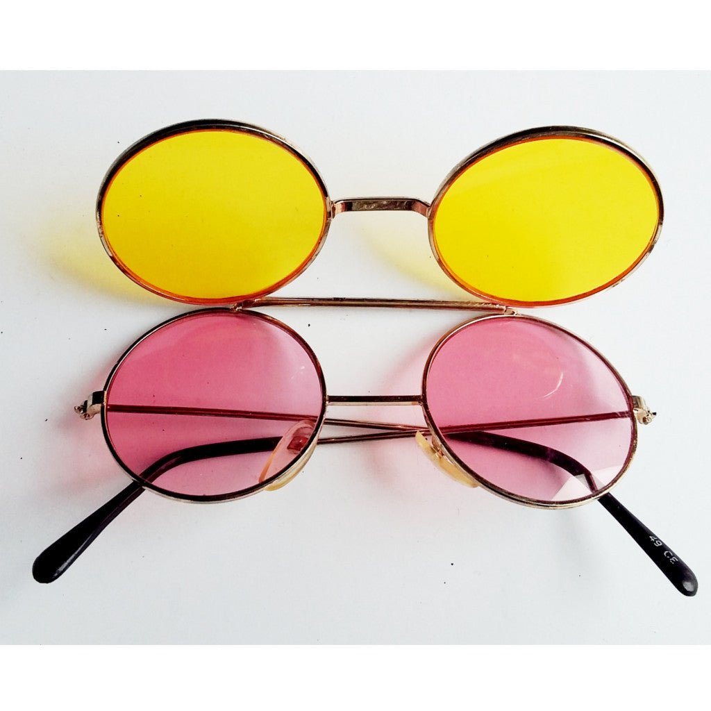 Double Tinted Lens Sunglasses