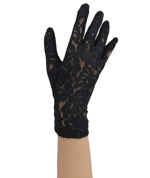 Italian Lace Gloves - Wrist
