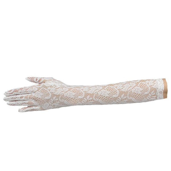 Italian Lace Gloves - Elbow