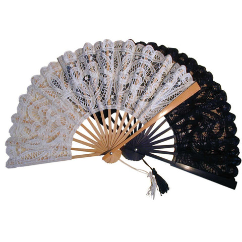 Large Lace Fan