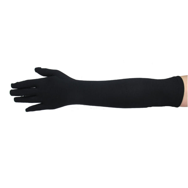 Matte Cotton Gloves - Elbow