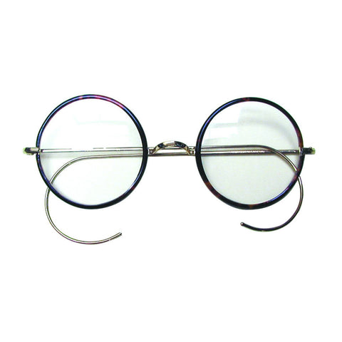 Round Frame Spectacles - Curled Sides