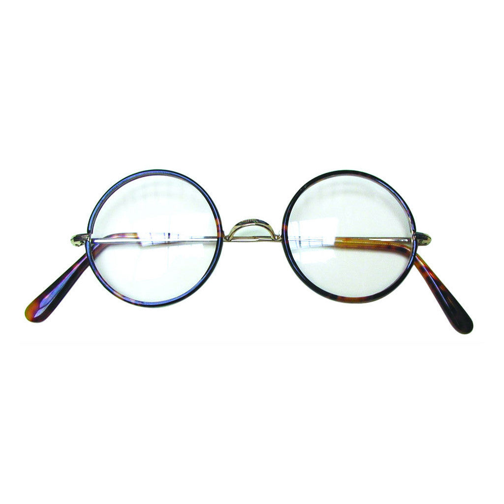 Round Frame Spectacles - Hockey Stick Sides