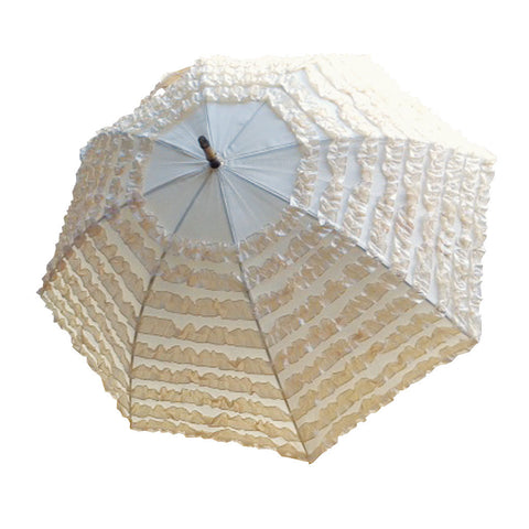 Large Ruffled Umbrella
