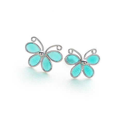 Paradise Butterfly Studs