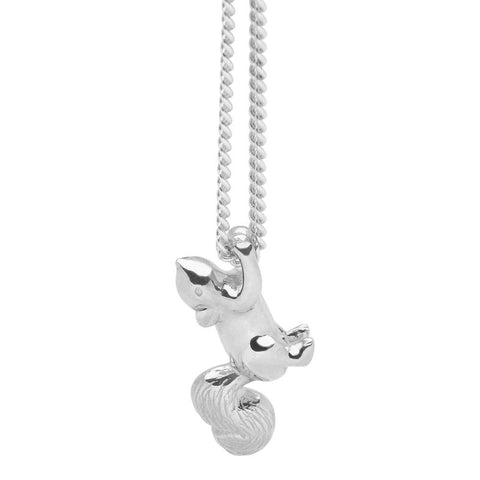 Little squirrel pendant zoo jewellery little squirrel pendant aloadofball Image collections