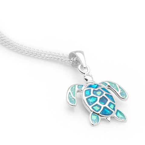 Blue Bay Pendant (Turtle)