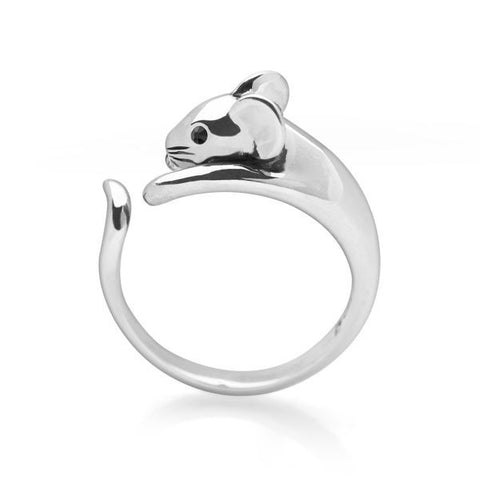 Silver Mouse Ring