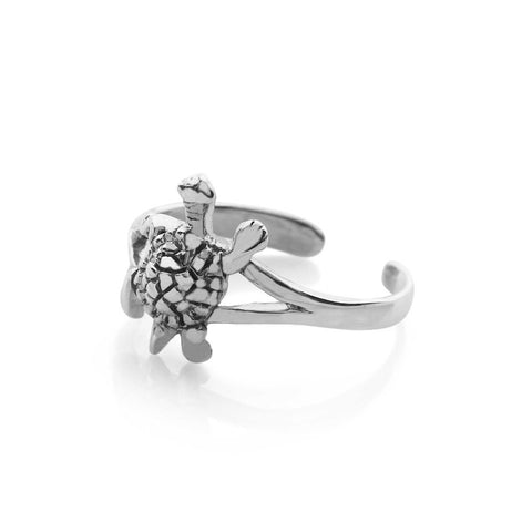 Turtle Toe Ring