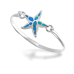 Opal Starfish Bangle