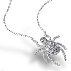 Sparkling Tarantula Necklace