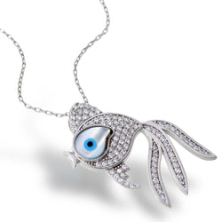 Bubble Eye Fish Necklace