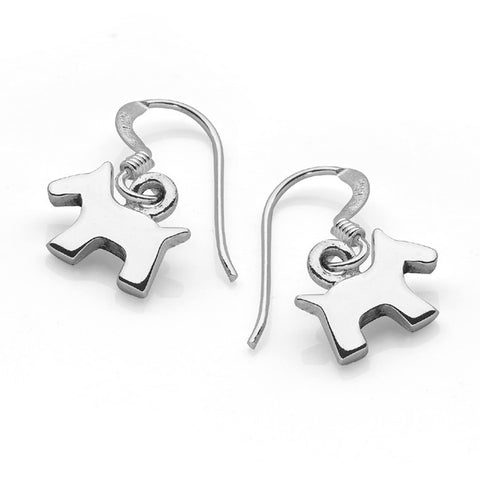 Scottie Dog Earrings (Small)